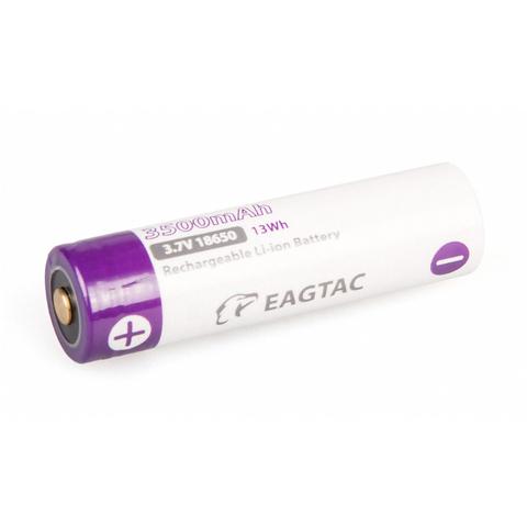 Аккумулятор Li-Ion EagleTac 18650 PCB 3500 mAh, 3.7В