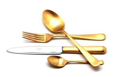 Набор столовых приборов (72 предмета / 12 персон) Cutipol ATLANTICO GOLD 9202-72