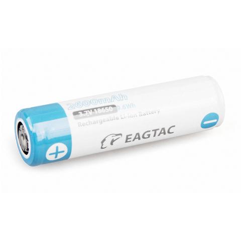 Аккумулятор Li-Ion EagleTac 18650 PCB 2600 mAh, 3.7В