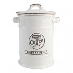 Ёмкость для хранения кофе Pride of Place White T&G 18075