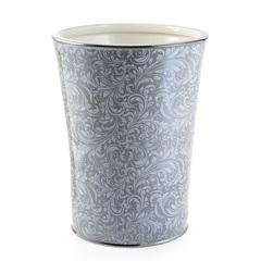 Корзина для мусора Kassatex Bedminster Scroll Flint Grey ATB-WB-FLG