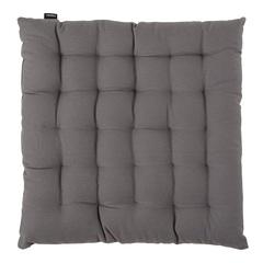 Подушка на стул из хлопка серого цвета из коллекции Prairie, 40х40 см Tkano TK20-CP0003
