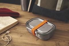 Ланч-бокс стальной оранжевый Black+Blum BAM-SS-L003