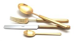 Набор столовых приборов (72 предмета / 12 персон) Cutipol BALI GOLD 9312-72