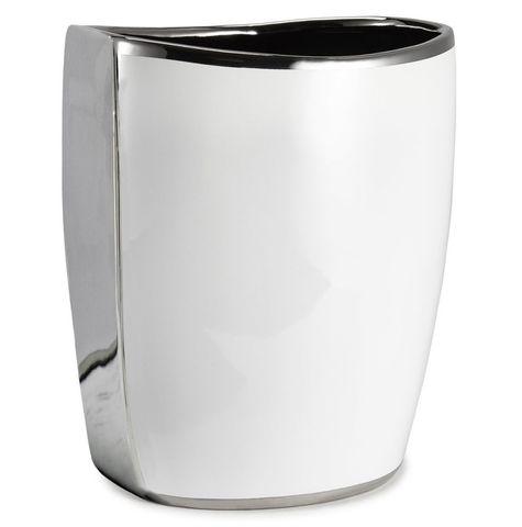 Корзина для мусора Kassatex Delancey ADY-WB-W