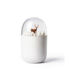 Контейнер для ватных палочек Deeryard Qualy QL10220-BN