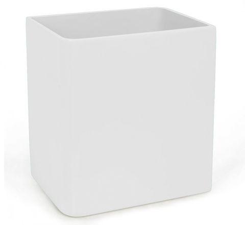 Корзина для мусора Kassatex Lacca White ALA-WB-W