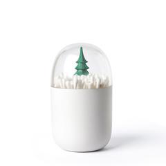 Контейнер для ватных палочек Winter time Qualy QL10221-GN