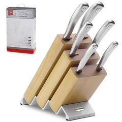 Набор из 6 кухонных ножей и подставки WUSTHOF Culinar арт. 9836