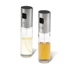 Набор емкостей с дозатором-спреем для масла и уксуса, 2 шт Westmark Steel арт. 24362260