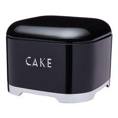 Ёмкость для хранения пирожных Lovello Retro black Kitchen Craft LOVCTBLK