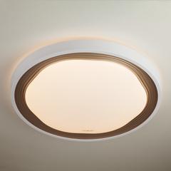 Накладной круглый светильник с пультом Eurosvet Range 40006/1 LED кофе