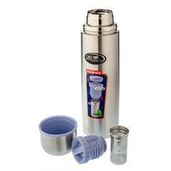 Термос Biostal (1 литр) пробка с ситечком, стальной NB-1000Z