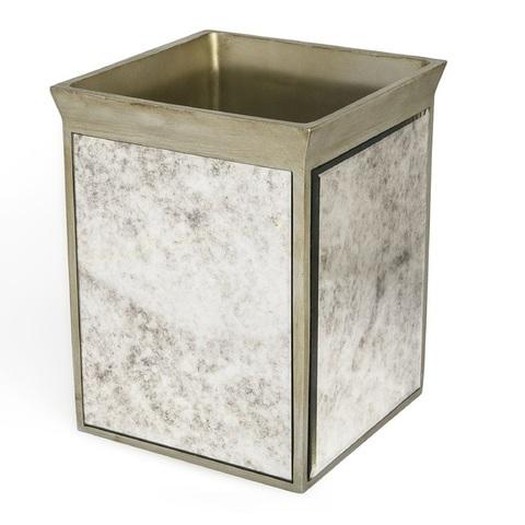 Корзина для мусора Kassatex Palazzo Vintage Mirror APL-WB