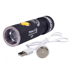 Фонарь светодиодный Armytek Prime C1 Pro Magnet USB+18350, 1050 лм, аккумулятор F05701SC