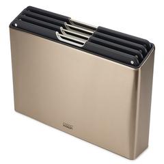 Набор разделочных досок Folio Steel золотистый Joseph Joseph 60172