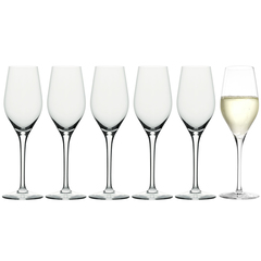 Набор из 6 фужеров для шампанского 265мл Stolzle Exquisit Royal Champagne