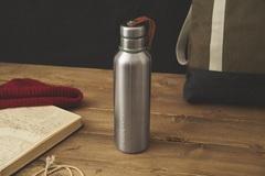 Фляга Water Bottle большая оливковая Black+Blum BAM-IWB-L010
