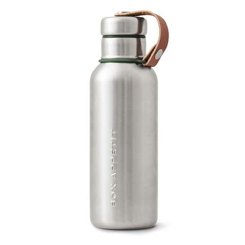 Фляга Water Bottle оливковая Black+Blum BAM-IWB-S010