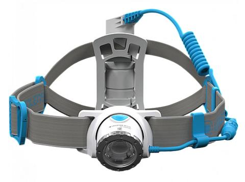 Фонарь светодиодный налобный LED Lenser NEO10R синий, 600 лм., аккумулятор