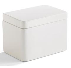 Косметическая емкость Kassatex Lacca White ALA-CJ-W