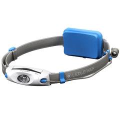 Фонарь светодиодный налобный LED Lenser NEO4 синий, 240 лм., 3-ААА 500914