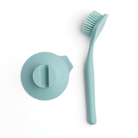 Щетка для мытья посуды с держателем на присоске Brabantia 117602