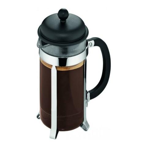 Кофейник френч-пресс Bodum Caffetiera 1 л. черный