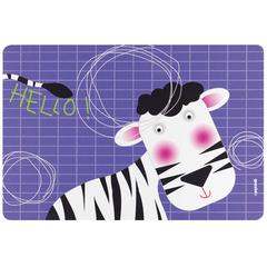 Коврик сервировочный детский Hello зебра Guzzini 22606652Z