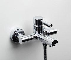 Main 4101 Смеситель для ванны с коротким изливом WasserKRAFT Серия Main 4100