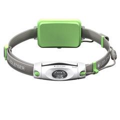 Фонарь светодиодный налобный LED Lenser NEO6R зеленый, 240 лм., аккумулятор 500919