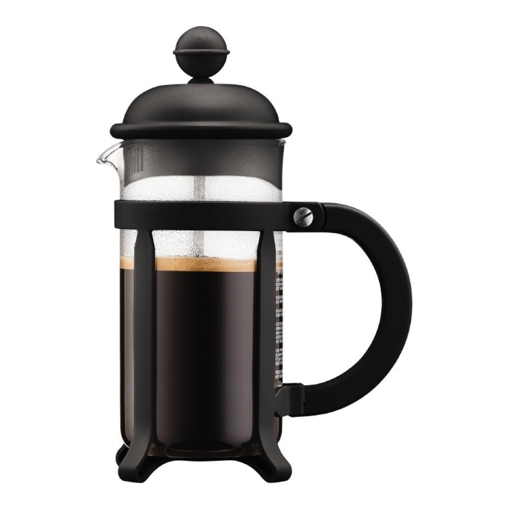Кофейник френч-пресс Bodum Java 0,35 л. черный