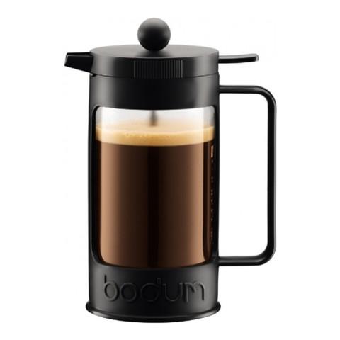 Кофейник френч-пресс Bodum Bean 1 л. черный