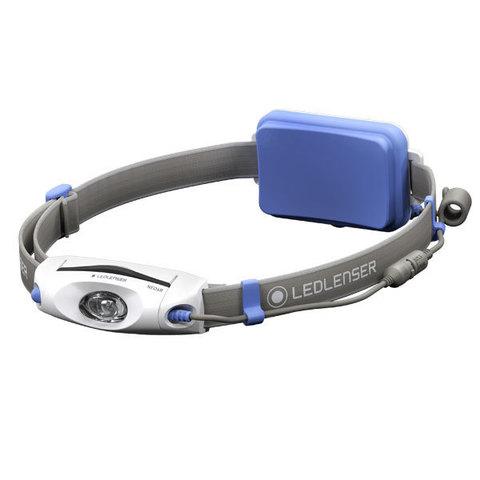 Фонарь светодиодный налобный LED Lenser NEO6R синий, 240 лм., аккумулятор