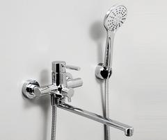 Main 4102L Смеситель для ванны с длинным изливом WasserKRAFT Серия Main 4100