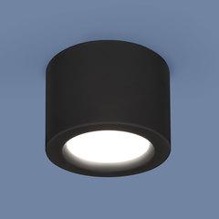 Накладной потолочный светодиодный светильник DLR026 6W 4200K черный матовый Elektrostandard