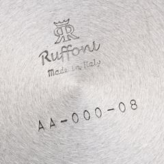 Ковш 16см (1,5л), крышка с посеребренной декорированной ручкой, RUFFONI Opus Prima арт. L16 Ruffoni