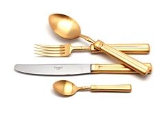 Набор столовых приборов (72 предмета / 12 персон) Cutipol FONTAINEBLEAU GOLD 9162-72