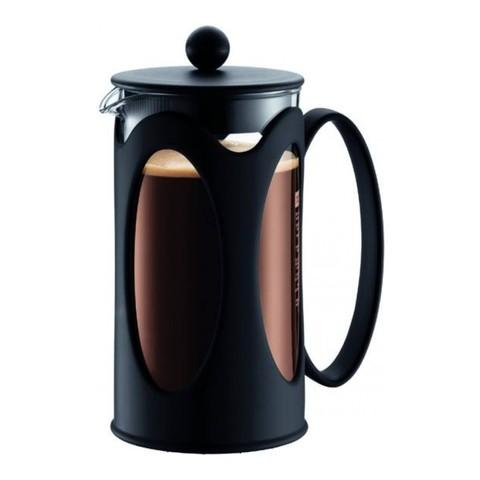Кофейник френч-пресс Bodum Kenya 1 л. черный