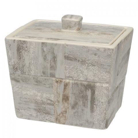 Косметическая емкость с крышкой Creative Bath Quarry QRY25STN