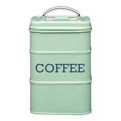 Ёмкость для хранения кофе Living Nostalgia green Kitchen Craft LNCOFFEEGRN