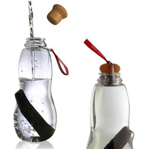 Эко-бутылка Eau good с фильтром красная EG004