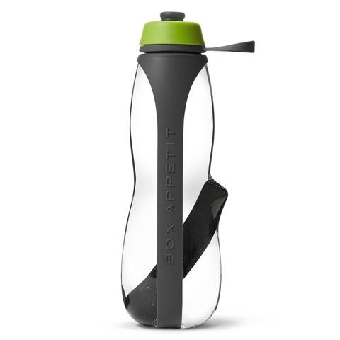 Эко-бутылка Eau Good Duo с фильтром серый-зеленая Black+Blum EGD-G02