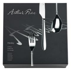 Набор столовых приборов (42 предмета / 6 персон) Arthur Price «Хенли»  п/к APZHEN4201