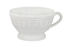 Чашка для завтрака, суповая чашка Venice (белая) без инд.упаковки 56426