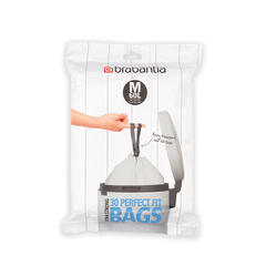 Пакет пластиковый, M 60л 30шт Brabantia 126949
