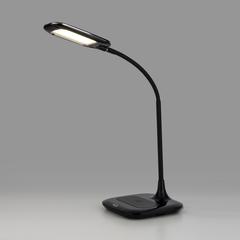 Настольный светодиодный светильник 80419/1 черный Eurosvet