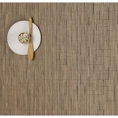 Салфетка подстановочная, жаккардовое плетение, винил, (36х48) Camel (100105-002) CHILEWICH Bamboo арт. 0025-BAMB-CAME