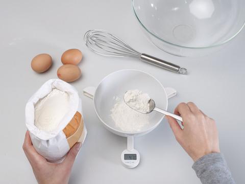 Весы кухонные складные Joseph Joseph Triscale™ белые 40071