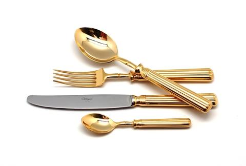 Набор столовых приборов (72 предмета / 12 персон) Cutipol LINE GOLD 9171-72
